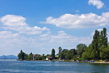 Insel Reichenau - Landschaft am Bodensee bei Niederzell 3