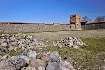 Medieval castle, Medininkai, Lithuania