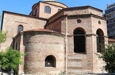 Hagia Sophia Byzantine church in Thessaloniki