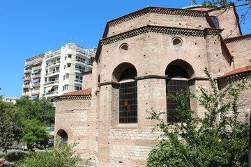 Hagia Sophia Byzantine church in Thessaloniki