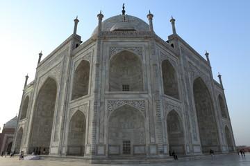 Das Taj Mahal in Agra Indien