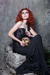 Halloween, witch, vampire, skull