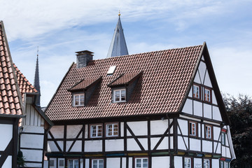 old town soest in germany