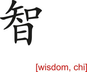 Chinese Sign for wisdom, chi