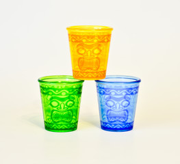 Tiki glasses.