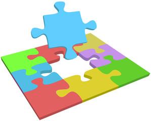 Missing piece find problem solution