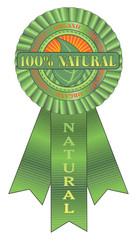 Natural Organic Ribbon