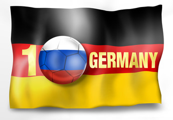 Winner Germany Flag Ball