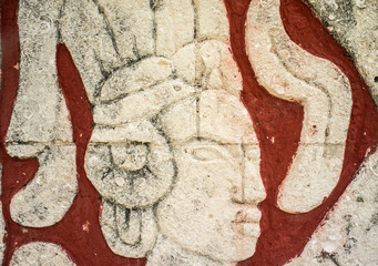 Carving of Maya