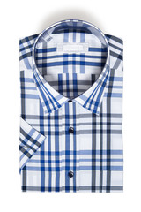 Male Shirt, Checkered Shirt, isolated
