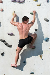 Outdoors Climbing