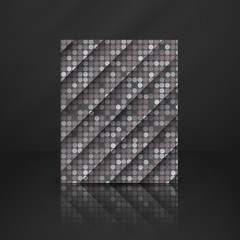Seamless Grey Gquare Tiles Pattern