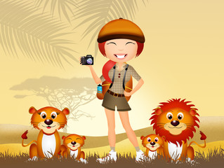 safari girl