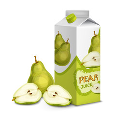 Juice pack pear