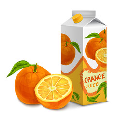Juice pack orange