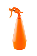 Orange plastic water sprinkler or atomizer