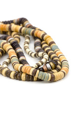 necklaces of alabaster beads