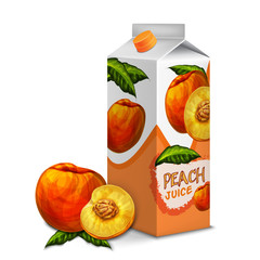 Juice pack peach