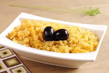 Portuguese cod recipe Bacalhau Dourado
