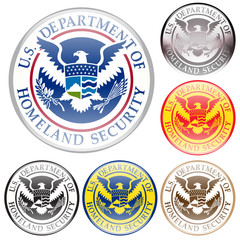 emblem of united state department of homeland security