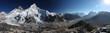 Mount Everest, Lhotse and Nuptse from Kala Patthar - panorama - 67442630