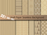 Fototapety kraft paper seamless background