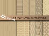 Fototapety kraft paper seamless background