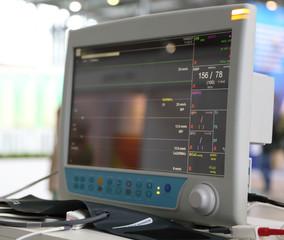 medical electronics.  cardiac monitor