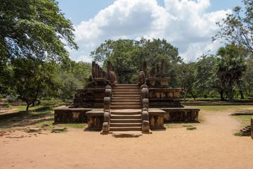 Sacred ruins, Polonnaruwa, Sri Lanka