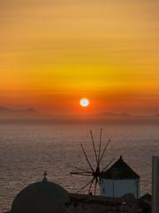 Santorini, tramonto