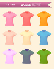 T shirt collection for women