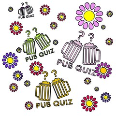 spring flower pub quiz  collectrion