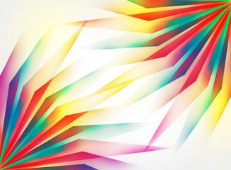 promienie abstrakcja