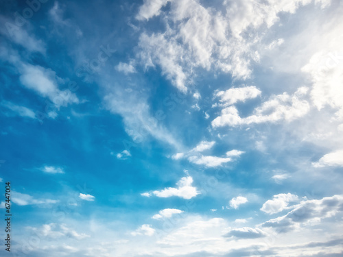canvas print picture Day sky