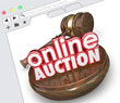 Online Auction Website Internet Online Marketplace Bidding Selli