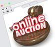 Online Auction Website Internet Online Marketplace Bidding Selli