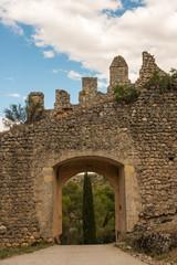 Muralla Y Puerta. Alarcón. Cuenca. España