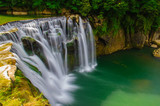 shifen waterfall in pingxi, Taipei, Taiwan