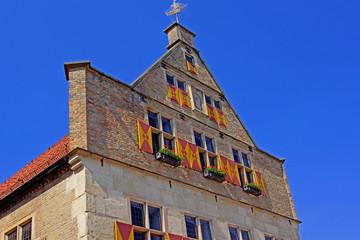 Historisches Altes Rathaus in WERNE ( bei Dortmund )