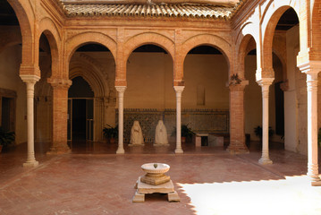 Patio in La Cartuja, Seville, Spain
