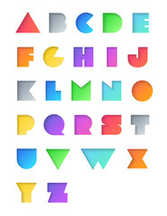 Vector Alphabet Set