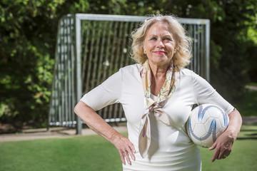 Soccer granny