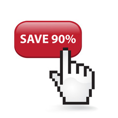 Save Ninety Percent Button