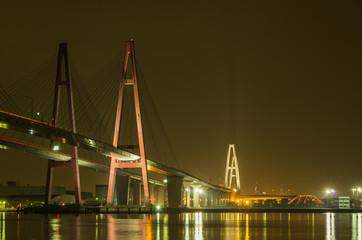 名港西大橋(名港トリトン)夜景