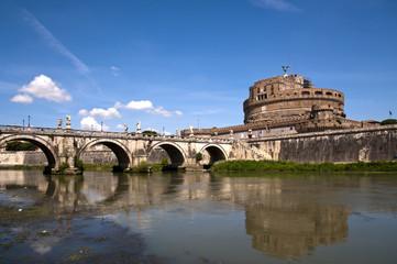 Rom Engelsburg mit Engelsbrücke