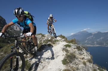 Mountainbiking - bike action
