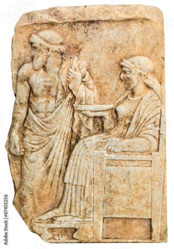 Poster Tunesië Ancient Greek sculpture