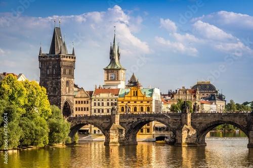 Fotobehang Oude gebouw Prague