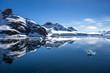 Leinwanddruck Bild - Antarctica Landscape-8