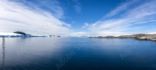 Plexiglas Antarctica Antarctic Panorama Paradis Bay